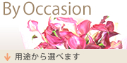By Occasion 用途から選べます